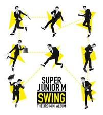 SUPER JUNIOR-M [SWING] 3rd Mini Album CD+Booklet K-POP SEALED