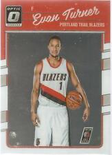Evan Turner Donruss Optic 16-17 #132 Portland Trail Blazers Boston Celtics