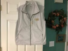 Men's REEBOK EA7 Emporio Armani Light Gray Vest Size XXL