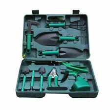 10 pieces Gardening Garden Tools Set Combination Ergonomic Non Slip Storage Case