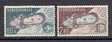 Czechoslovakia 1963 MNH ** Mi 1413-1414 Sc C57-C58 AIR POST Flugpost  Air mail .