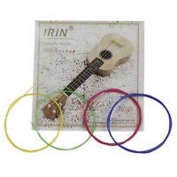 4PCS Multi-color Ukulele Strings Nylon Guitar Replacement Parts for Ukulele