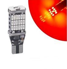 T15 LED Ampoule W16W 45 smd Rouge Feux stop Veilleuse freins Canbus pour voiture