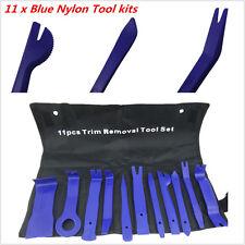 11 x Blue Nylon Car Panel Dash Audio Stereo GPS Molding Removal Install Tool kit