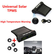 LCD Solar Power TPMS Wireless Tire Pressure Monitoring System Tire Alarm System