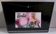 Hallmark 2004 Barbie Black Faux Patent Leather Photo Storage Box (NEW)