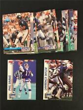 1992 Pro Set New York Giants Team Set 22 Cards