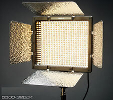 Yongnuo YN-600 Bi-color LED Video light for Canon DSLR 60D 650D 700D 5D III 7D