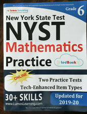 NEW YORK STATE TEST PREP: 6TH GRADE MATH PRACTICE WORKBOOK By Lumos Learning NEW