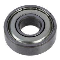 20X(10 x 26 x 8mm 6000Z-Silber-Ton-Schild Premium-Kugellager DE R I6B8