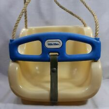 Little Tikes Swing Yellow Blue Toddler 9 Months to 3 Years Old Vintage