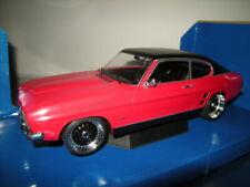 Ford Capri MKI rojo negro 1973 1:18 microg