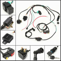 Electric Start Engine Wiring Harness Loom 50 110 125cc Quad Bike ATV Buggy Coil
