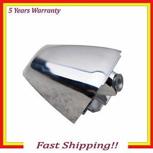 Outside Door Handle End Cap Cover New For 06-10 Hummer H3 Chrome Front or Rear