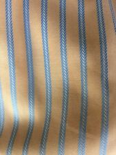 Damen Bluse apricot/blau Vollzwirn 100% Baumwolle sehr edel Gr. 38 M