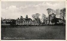 Quainton between Aylesbury & Buckingham. Almshouses & Church by RAP Co.