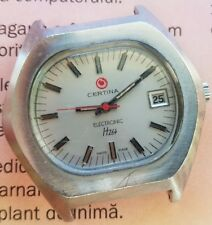 Vintage Certina Electronic hz4 Stainless Steel