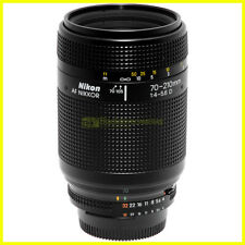 Nikon AF-D Nikkor 70-210mm f4-5,6. Obiettivo autofocus per fotocamere. Usato.