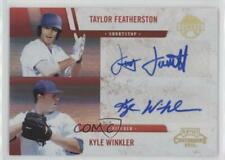 2011 Playoff Contenders Signatures /149 Kyle Winkler Taylor Featherston #15 Auto