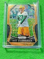 JACE STERNBERGER GOLD LAZER PRIZM RC CARD JERSEY #87 PACKERS2019 PRIZM FOOTBALL