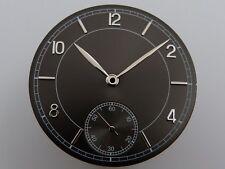Cadran + Aiguilles Sunray BLACK ETA UNITAS 6498 Dial hand watch SET 36.4mm