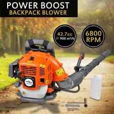 vidaXL 42.7 cc Petrol Backpack Leaf Blower 900 m³/h 2-Stroke Vacuum Power Tool