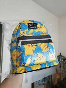 Pikachu loungefly Mini Backpack Ebgames Exclusive