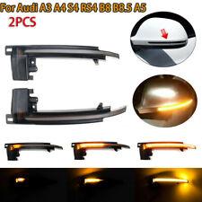 For Audi A3 A4 S4 RS4 B8 B8.5 A5 Dynamic LED Turn Signal Light Mirror Indicator