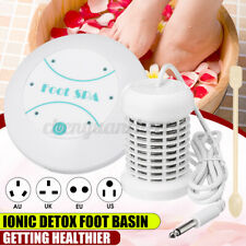 Personal Foot Bath Machine Ionic Detox Spa Basin Tub Health Care Cleanse Home