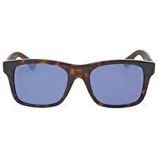 Gucci Blue Mirror Plastic Sunglasses