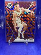 Tyler Herro Blue Reactive Prizm Mosaic 2019-20 SP Rookie Parallel Miami Heat