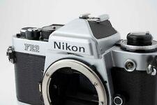 Nikon FE2 Silver film camera 35mm
