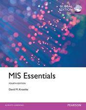 MIS Essentials: Global Edition 4E by David Kroenke (Paperback,2014)9781292065298