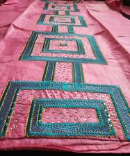 Ladies African Brocade Embroidery 100% Cotton Tunic & Wrap Skirt Suit XXXL BN!