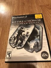 Medal of Honor: European Assault (Sony PlayStation 2, 2005) PS2 Cib Game VC5