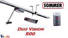 Sommer Duo Vision 500 Garagentorantrieb inkl. Schiene + Handsender - Torantrieb