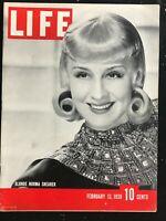 LIFE MAGAZINE - Feb 13 1939 - THE PHILIPPINES: US FAR EAST FRONTIER / Fort Wayne