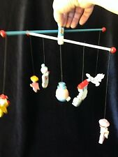 Vintage Irmi Hand Painted Musical Mother Goose Mobile No M815