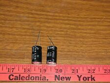 lot of 2 IC Capacitors 2200UF 25V 20% Alum. Elec