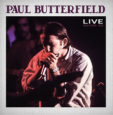 PAUL BUTTERFIELD New Sealed 2018 UNRELEASED LIVE 1970 NEW YORK CONCERT 2 CD SET