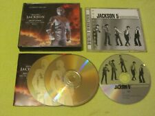 Michael Jackson History & the Jackson 5 Ultimate Collection 2 Albums 3 CDs Pop