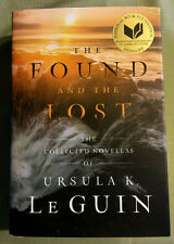 RARE SIGNED Ursula K Le Guin THE FOUND AND THE LOST - COLLECTED NOVELLAS of UKLG