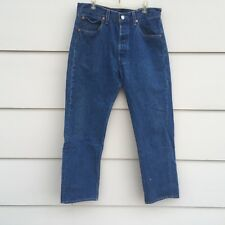 Vtg Levi's 501xx Button Fly jeans men's tag 33 X 31 measures 31 X 28 USA MADE