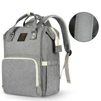 Diaper Bag Backpack Large - Multi-Function Waterproof Baby Travel Bags for Mom