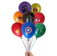 """8 X 12"""" AVENGERS  Latex Balloons Party Decoration - Birthday Party"""