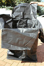 Woolpack Bulka Bag, Black, New, 70x70x100cm, Rubbish, Gardening ~~SAVE 75%~~r