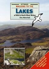 New, Walking to the Lakes of Mid and North West Wales, Des Marshall, Book