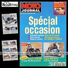 MOTO JOURNAL N°1171 SUZUKI GSF 1200 BANDIT CAGIVA 600 RIVER GRAND PRIX JEREZ '95