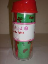 3 PACK OF FLIRTITUDE PANTY THONGS S-SIZE 5 GREEN,RED,ORANGE FREE BONUS RED CUP