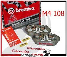Brembo 220A39710 Coppia Pinze Freno Radiali M4 108 mm per Kawasaki ZX6R ZX10R